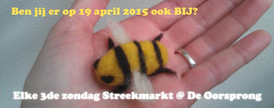 19 april streekmarkt op De Oorsprong