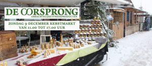 Kerstmarkt 9 december 2018 @ De Oorsprong