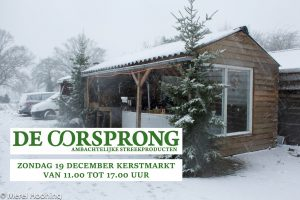 Kerstmarkt 19 december 2021 @ De Oorsprong